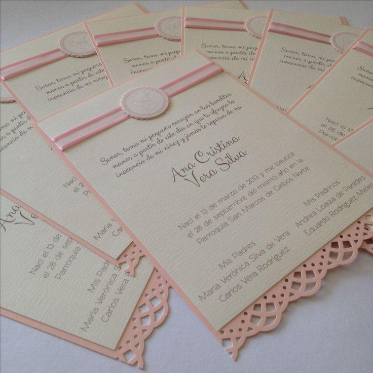 Baptism favor card by paperworks