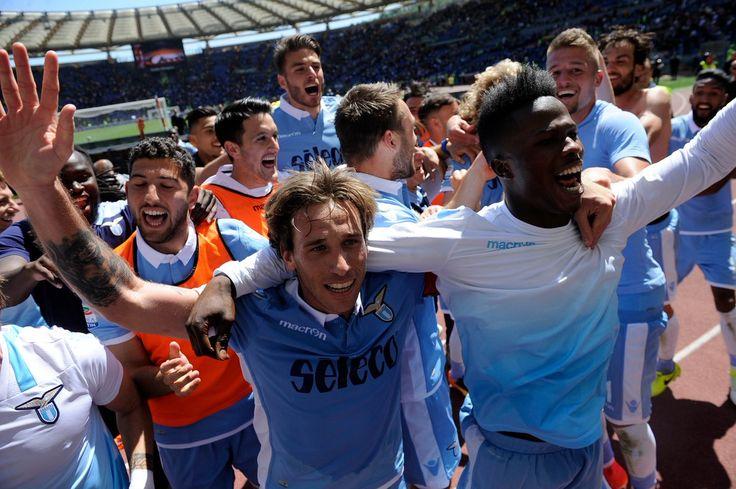 @Lazio #SerieA #SerieATIM #IlCalcioèDiChiLoAma #RomaLazio #DerbydiRoma #DerbydellaCapitale #SSLazio #SSL #AvantiLazio #Lazio #LaPrimaSquadraDellaCapitale #Biancocelesti #Biancazzurri #9ine