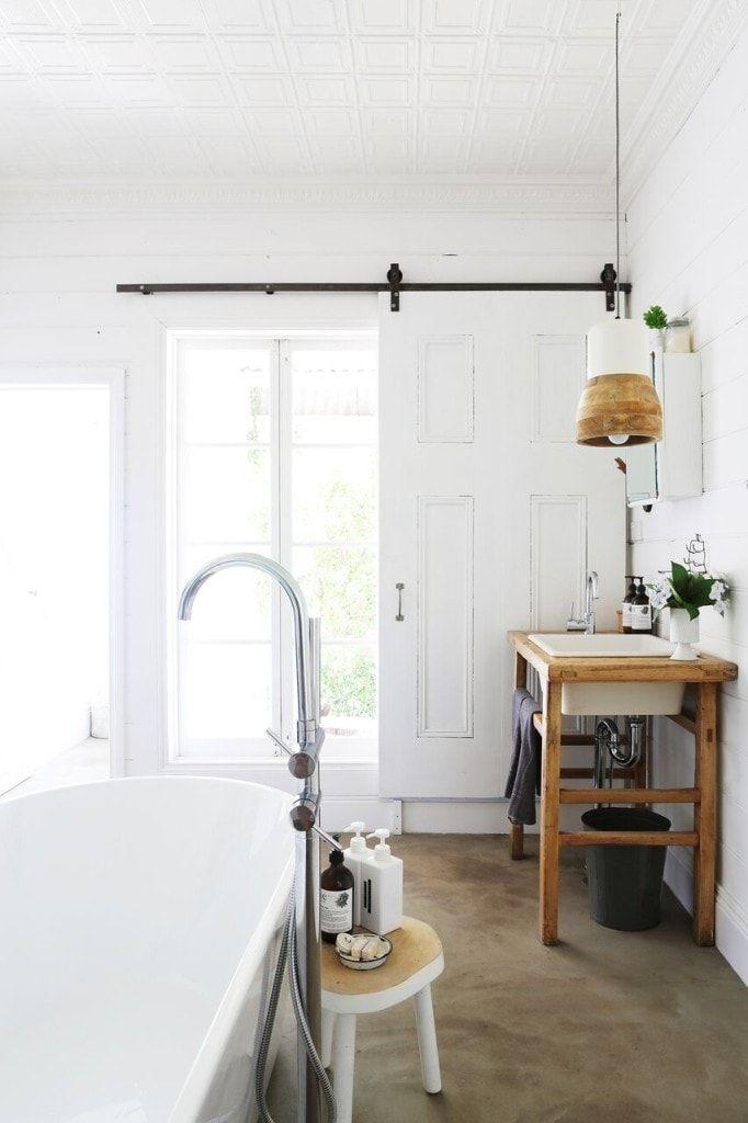 Badezimmer Im Skandinavischen Stil Badezimmer Dekoration