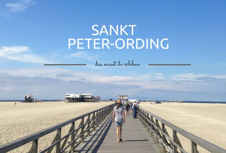 Von ihrem Aufenthalt an der Nordsee in Sankt Peter Ording hat Travel Sisi prima Reisetipps mitgebracht.