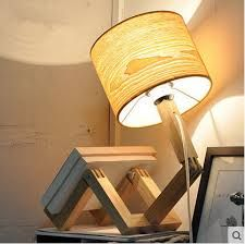 Image result for creative wooden lamps