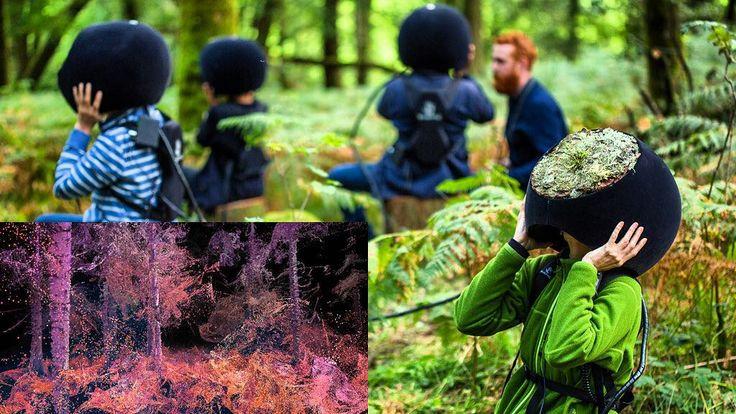 An awesome Virtual Reality pic! Das Bild der Woche: Facettenreicher Blick  Das in London ansässige Designstudio Marshmallow Laser Feastermöglicht mit In the Eyes of an Animal eine faszinierende Reise durch den Wald. Durch die Augen von Tieren betrachten Besucher des Grizedale Forest den Wald (kleines Bild). Das futuristische Virtual-Reality-Projekt verschmilzt Natur und Technologie und erlaubt es als Vogel über Bäume zu fliegen oder in verschiedene andere Tierrollen zu schlüpfen um durchs…