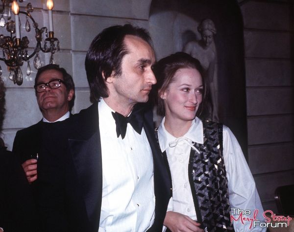 With John Cazale at Lee Strasberg's 75th birthday party in 1976