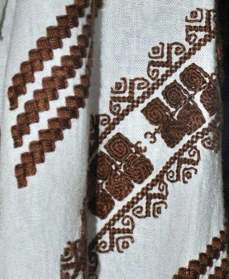 Romanian blouse detail