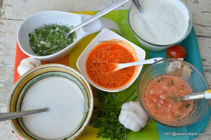 Retete de mujdei de usturoi - cum se face mujdeiul? Retete de sosuri pentru carne la gratar, fripturi la cuptor sau tigaie, legume si salate. Mujdei simplu,