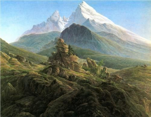 The Watzmann - Caspar David Friedrich