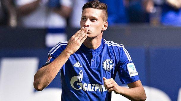 Julian Draxler nimmt Abschied vom FC Schalke 04.  (Quelle: imago/Moritz Müller)