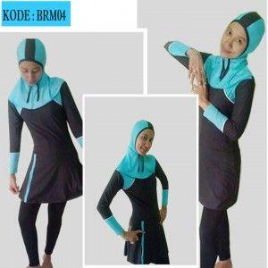 baju renang muslim brm 04