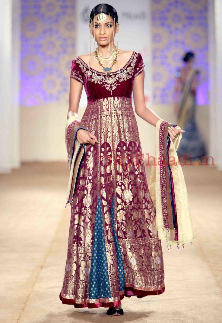 Anju Modi bridal collection - wedding dress collection - 271 | MyShaadi.in