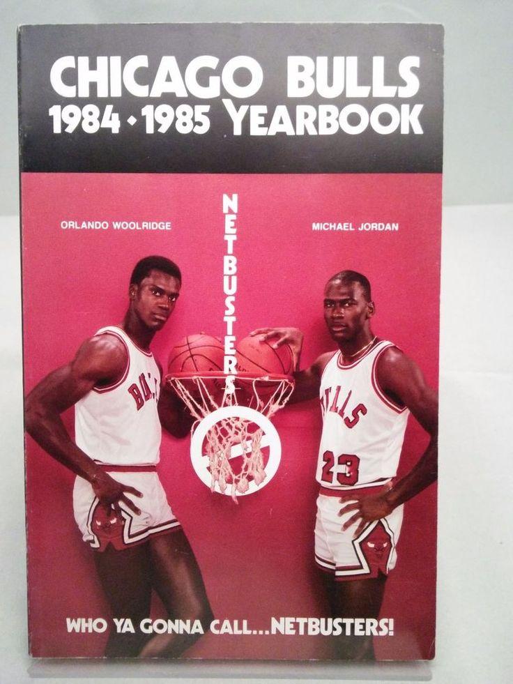 chicago bulls yearbook 1984-1985 michael jordan rookie year from $29.0