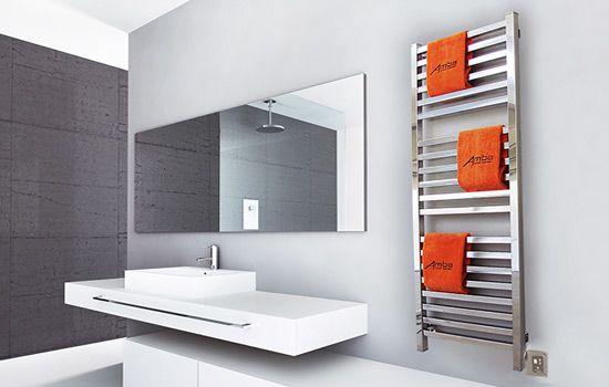 Quadro contemporary towel warmer