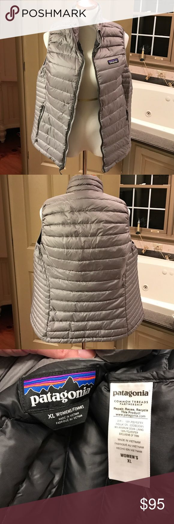 Patagonia Women's Down Sweater Vest size XL Worn last year for about a month! Size XL like new I am a NON-Smoker Patagonia Jackets & Coats Vests