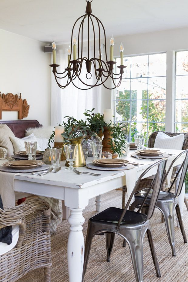 17 best images about fall decor on pinterest house tours for Thanksgiving dining room decorating ideas