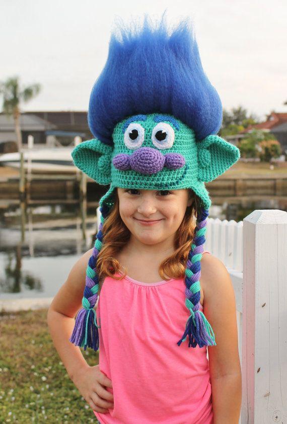 Crochet Troll Hat Pattern Delectable Crochet Troll Hat Youtube