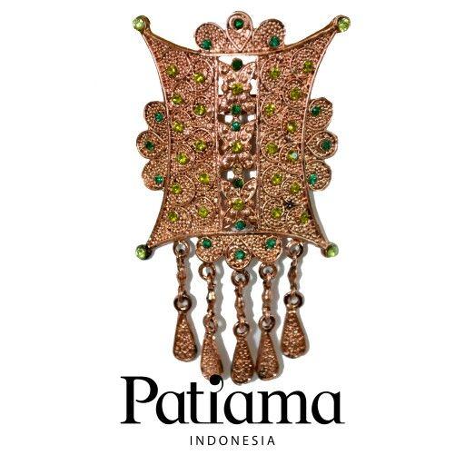 Pintu Aceh Brooch,.. Find it on Patiama Indonesia www.patiama.com Line/ instagram: patiama_id