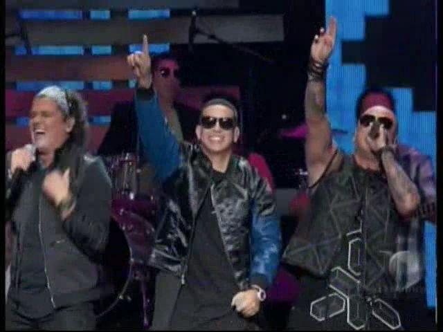 Presentación De Daddy Yankee, Wisin Y Carlos Vives En Premios Billboards2015 #Video