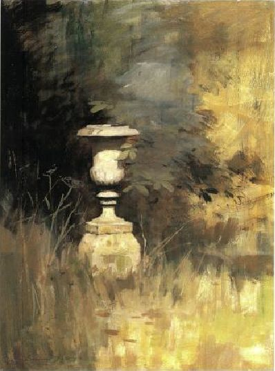 Edward Seago...my dad showed me this painting and the genius of it's simplicity.