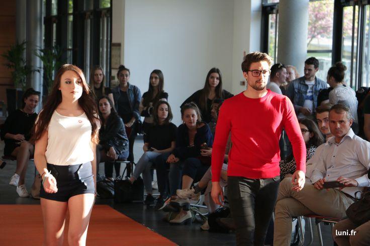 Superbe défilé hier à Lyon. Luni, créateurs français tient à remercier tous les intervenants : - les étudiants de l' IDRAC Campus de Lyon pour l'organisation et les modèles du Défilé de Mode - Créateurs Français - nos créateurs pour le prêt des tenues : Mamamushi EON Paris Thefrenchkiss Aurya habille Josephine Bono 13.80 FAGUO Galucebo Textile Français Azucar Bijoux - les étudiants de Peyrefitte Esthétique pour le maquillage et la coiffure des modèles