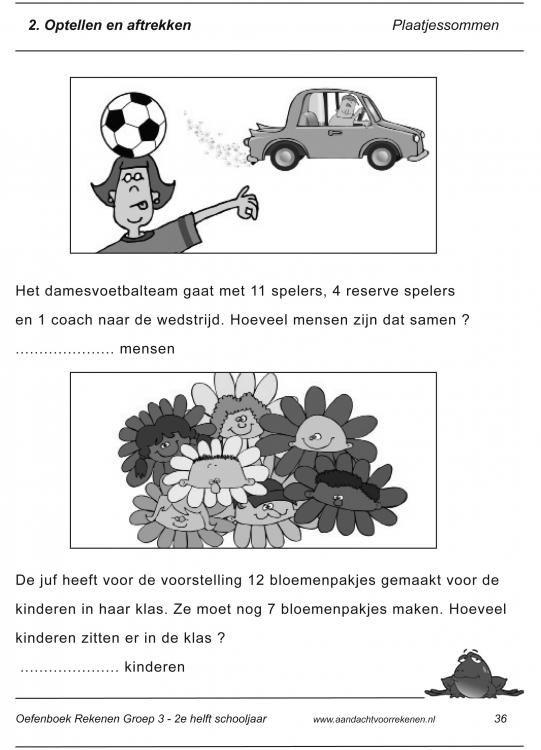 voorbeeldblz. gr. 3 aandacht voor rekenen
