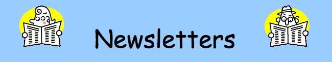 Kellyskindergarten's monthly newsletter templates