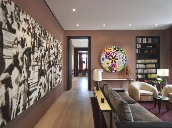 Historic building transformed into lavish Paris pad