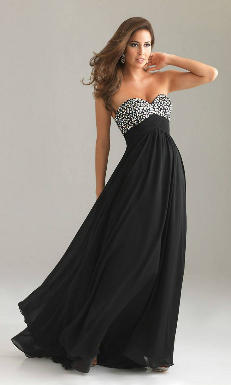 Black dress gown - Black Evening Dresses A Numerous Tendency
