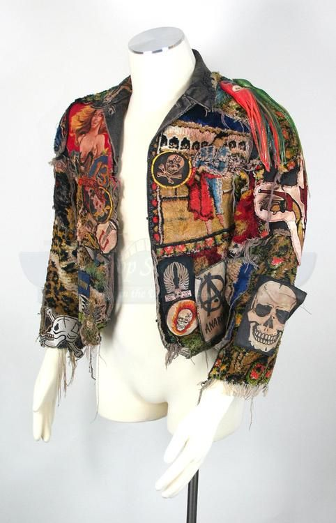"""Skull Patches.   Jacket from """"The Lost Boys"""""""