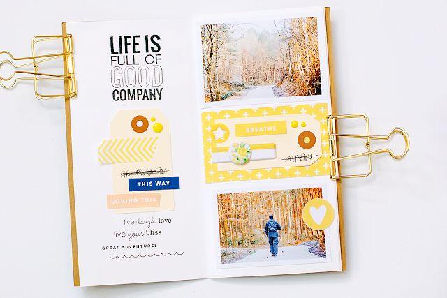 Traveler's Notebook - podręczny notes kreatywny - StudioForty - Marinette Lesne