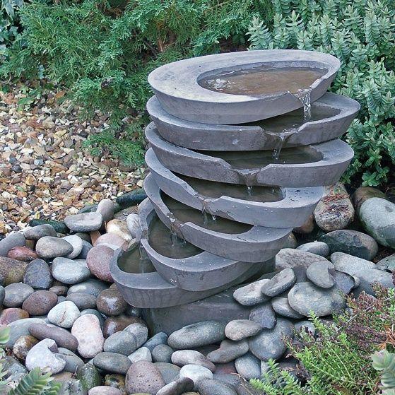 Bildergebnis für Garten Kugel Wasserspiel