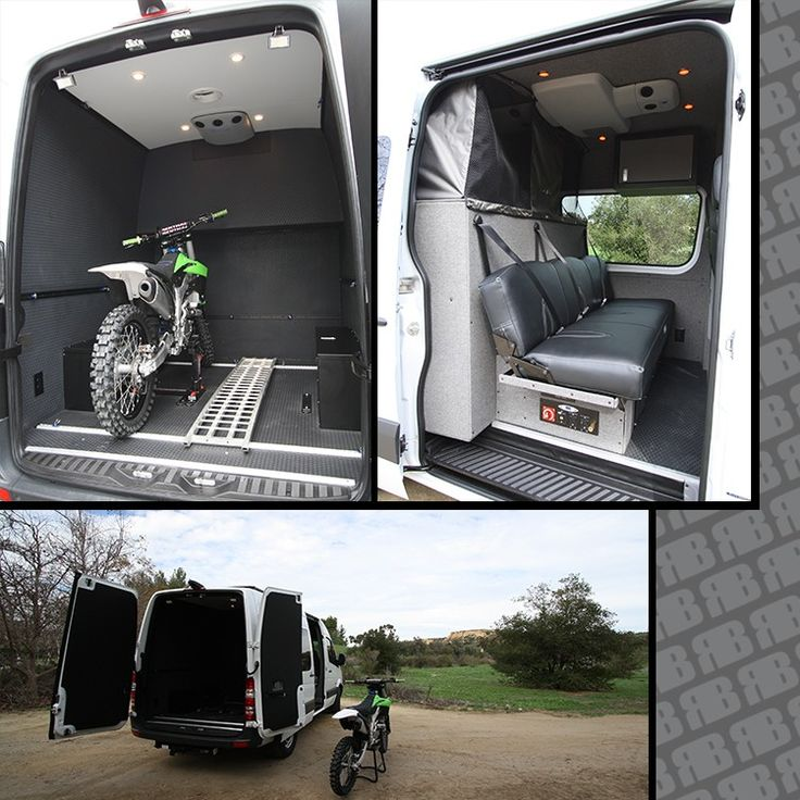 Promaster Rv Build >> GK 144 Moto Hauler | Vans, Sprinter van and Van life