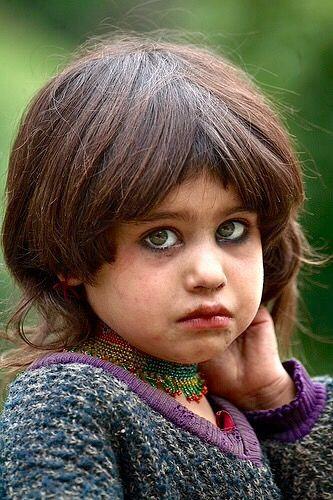 Kashmiri Eyes Cuteness! Just look at...