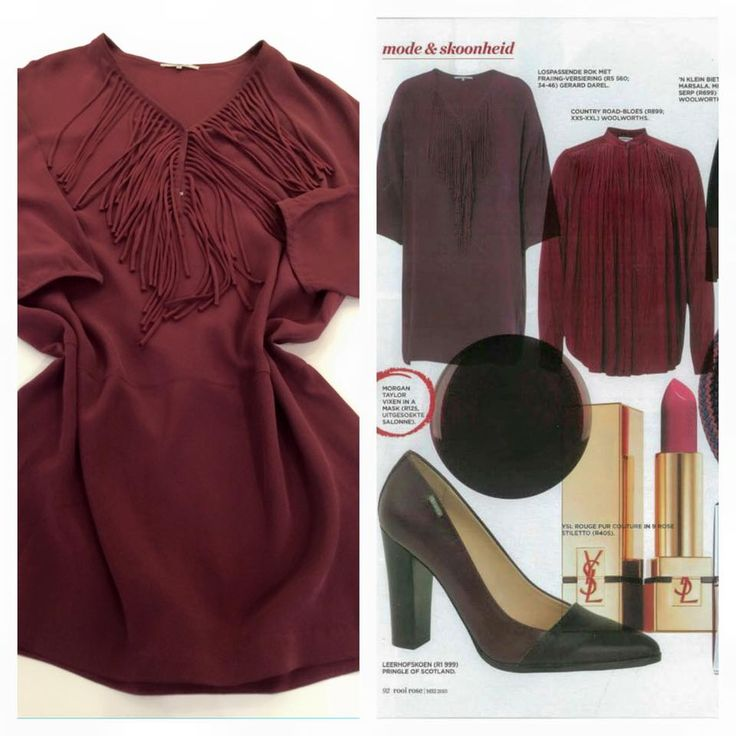 Masala is the winter colour | As featured in the May edition of Rooi Rose, our 100% suede textured silk tunic dress, always a sophisticated item | Dress up with winter boots or as a tunic top for a more casual feel over leggings or jeans.  Price on request.