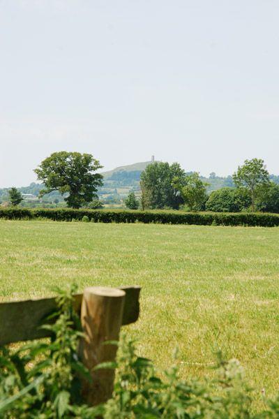 Glastonbury Tor view at Woodlands Farmhouse