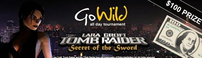 Mobile Online and Live Casino Games: GOWILD ALL DAY $100 TOMB RAIDER at Go Wild Casino
