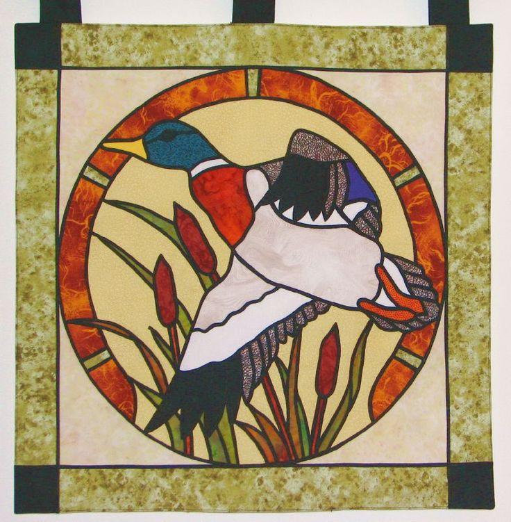 vitrail canard