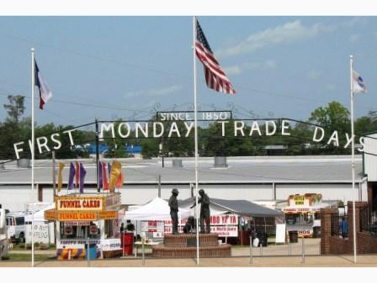 First Monday Trade Days / Thursday - Sunday before the First Monday of every month / Canton, TX