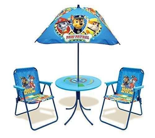 Paw Patrol Paw Patrol Classic Kids Patio Set Toy