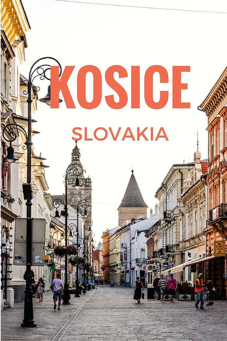 Kosice, Slovakia - Visit in June for the Balloon Festival
