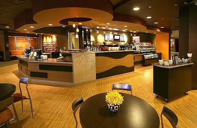 Modern Church Interior Design Bookstore And Coffee Shop San Antonio Texas Design Work