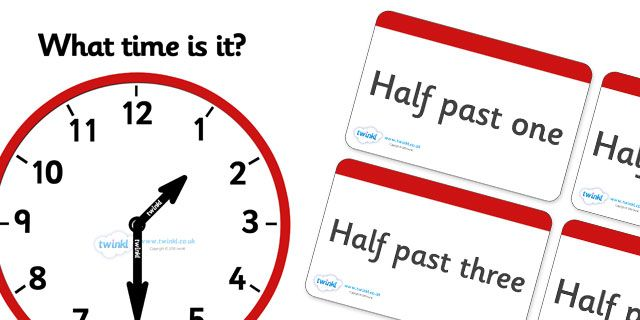 Twinkl Resources >> Clock Matching Game - Half Past  >> Thousands of printable primary teaching resources for EYFS, KS1, KS2 and beyond! education, home school, child development, children activities, free, kids, math games, worksheets, number work, half past, clock match,