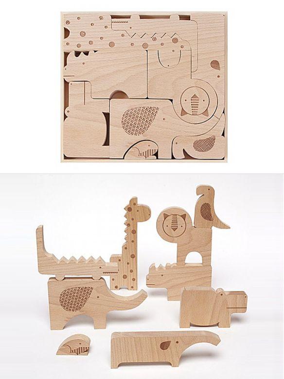 Safari Jumble Puzzle by Petit Collage | moddea