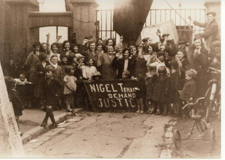 Peckham Rent Strike - 1931. Hayes Peoples History