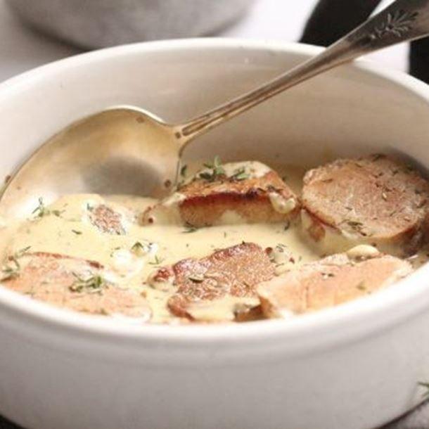 Filet Mignon de Porc à la Moutarde & au Thym