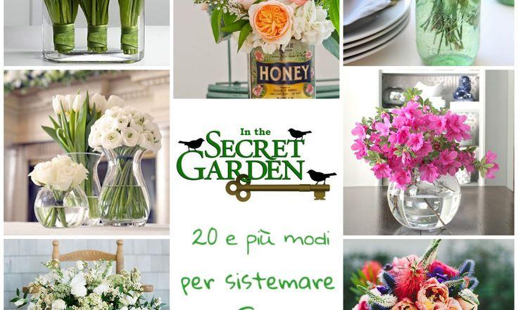 """Pubblicato il 25 febbraio 2017Modifica """"20 modi di sistemare i fiori freschi in casa""""20 modi di sistemare i fiori freschi in casa"""
