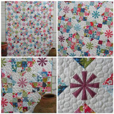 from the new fat quarterlyCrafty Stuff, Diy Quilt, Buckets Lists, Quilt Ideas, Beautiful Quilt, Quilt Tops, Crafts, Pattern Ideas, Quilt Pattern