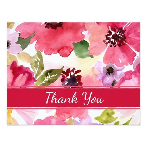 18 best  Thank You Cards  images on Pinterest Thank you - wedding thank you note