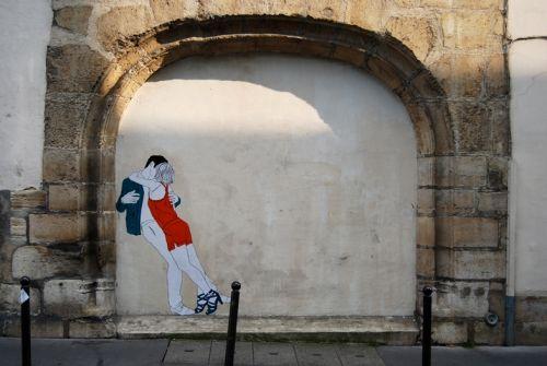 photo d'un mur by Claire Streetart/wall art/street art