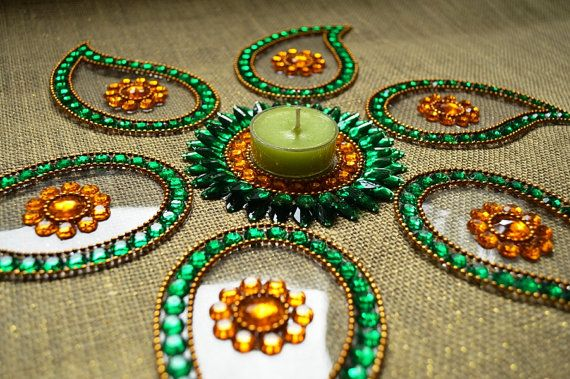 9 best kundan rangoli designs and patterns with images for Floor rangoli design