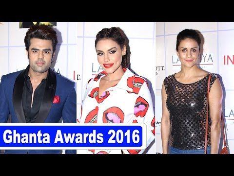 Ghanta Awards 2016: Manish Paul, Gizele Thakral, Gul Panag | UNCUT - YouTube