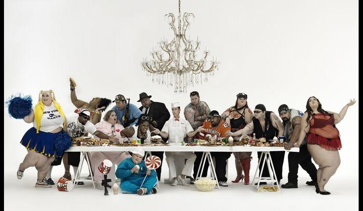 For my collection of Last Suppers. Gerard Rancinan's Metamorphosis IV.